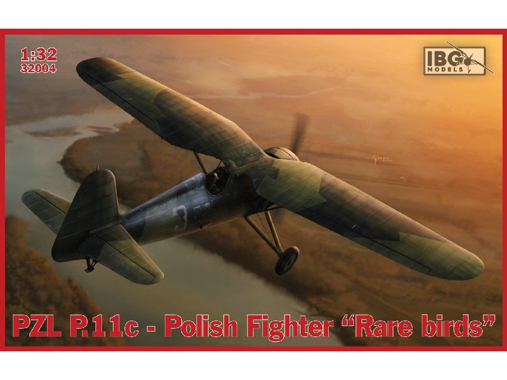 1/32 PZL P.11c Polish Fighter - Rare Birds - IBG