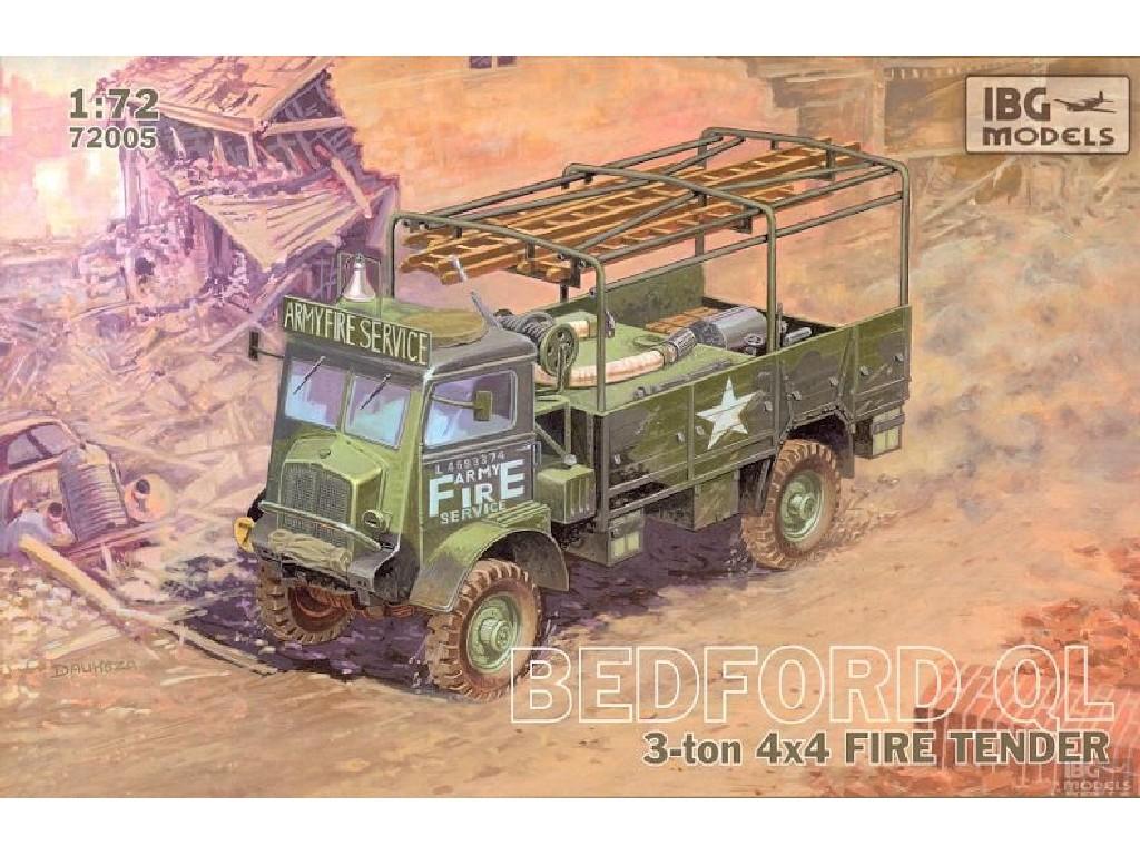 1/72 Bedford QLR 3 ton 4x4 Fire Tender