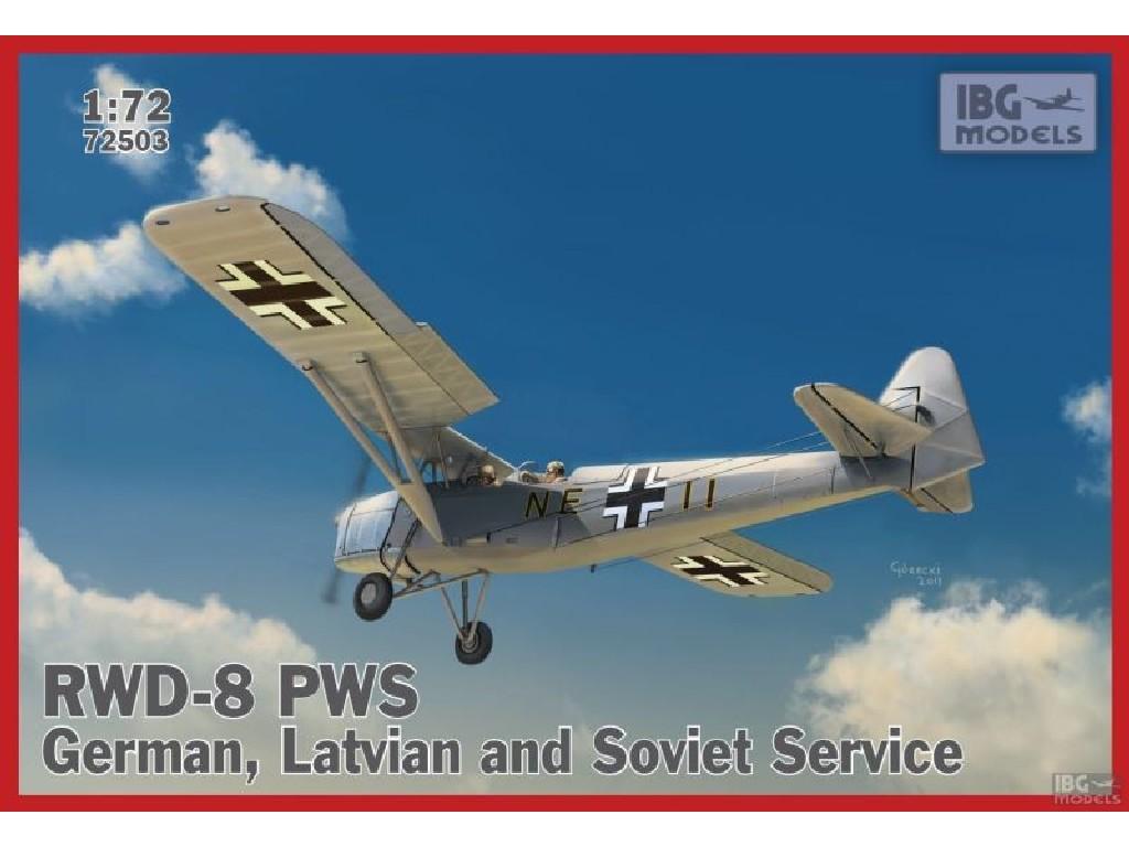 1/72 RWD-8 PWS – German, Latvian and Soviet service