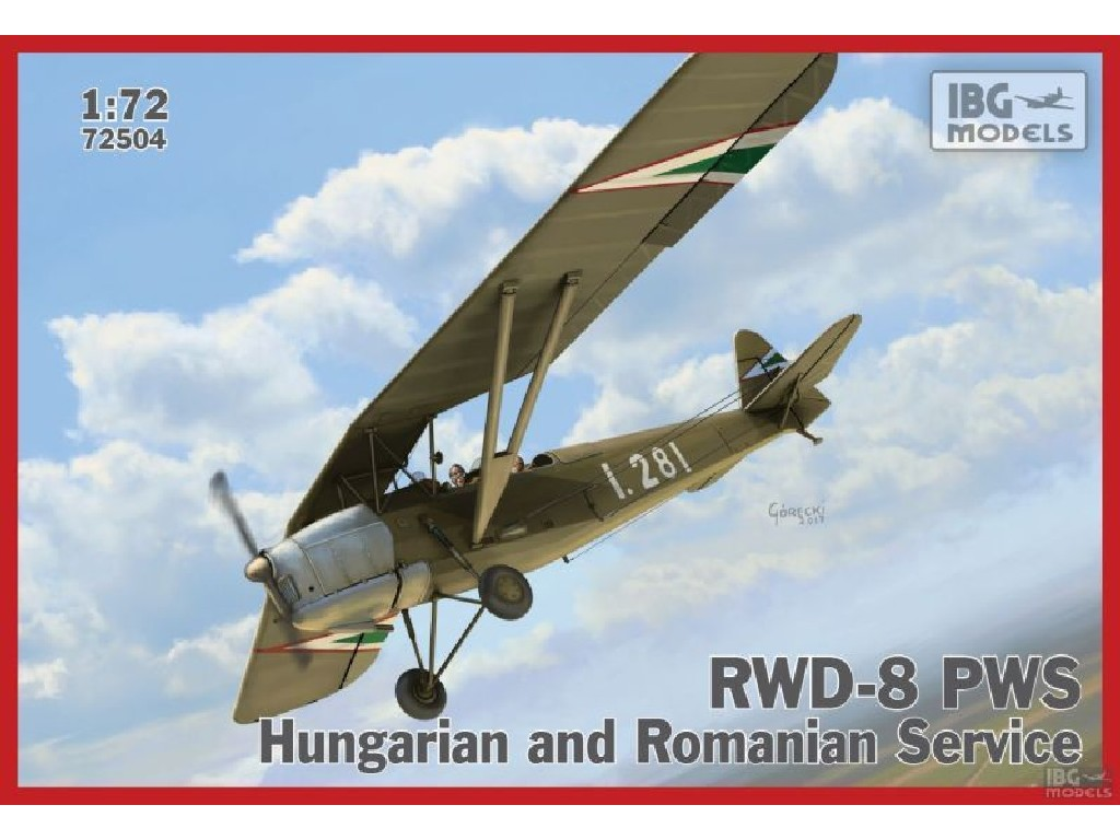 1/72 RWD-8 Hungarian and Romanian service