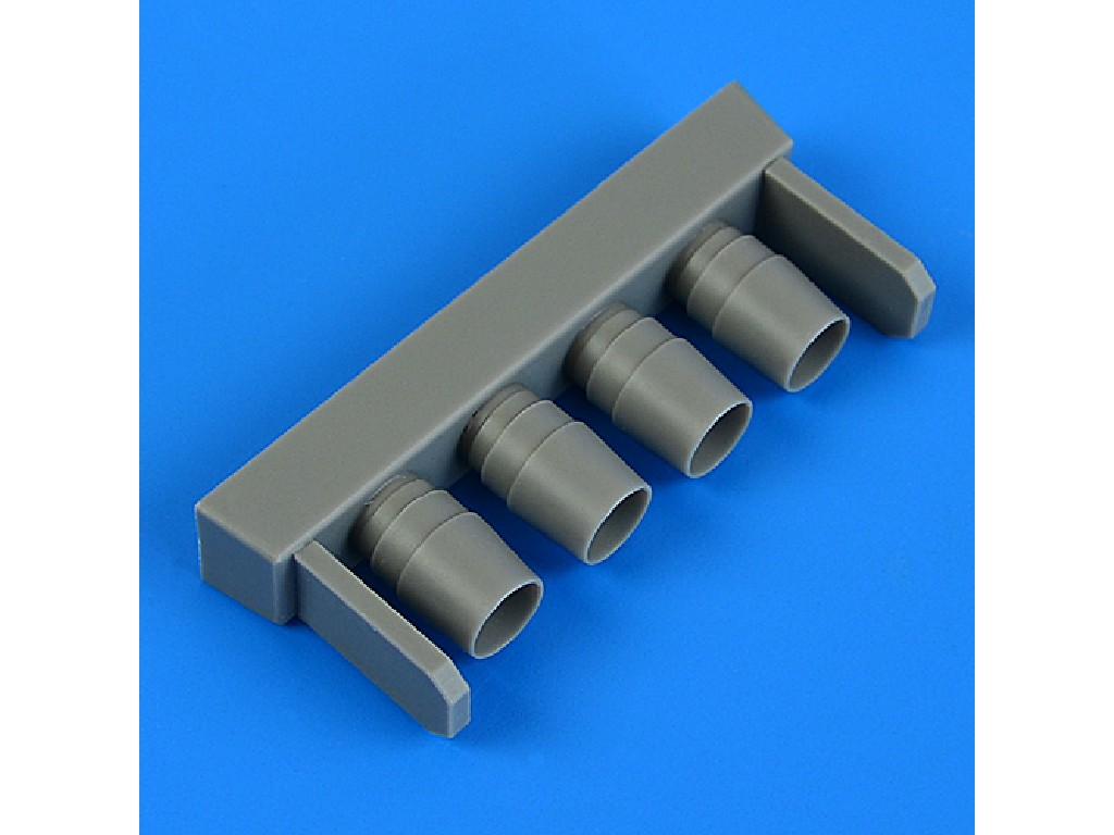 Aires - QB48986 - IA 58 Pucará exhaust for KINETIC kit 1:48