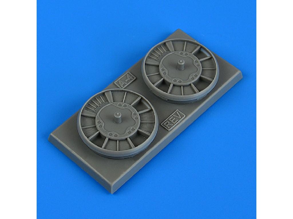 Aires - QB72662 - Ju88A-4 radiators for REVELL kit 1:72
