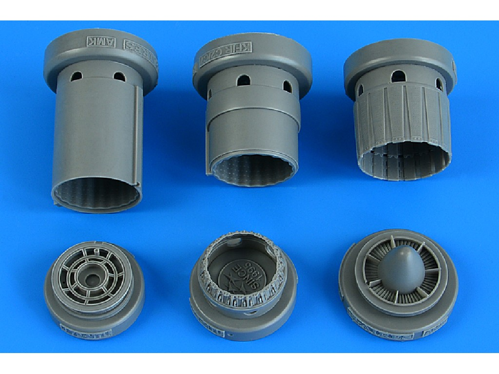 Aires - 4840 - Kfir C2/C7/F-21 exhaust nozzle for AMK kit 1:48