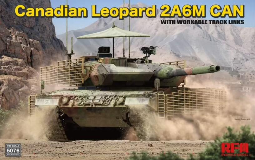 Rye Field Model - 5076 - Canadian Leopard 2A6M CAN 1:35