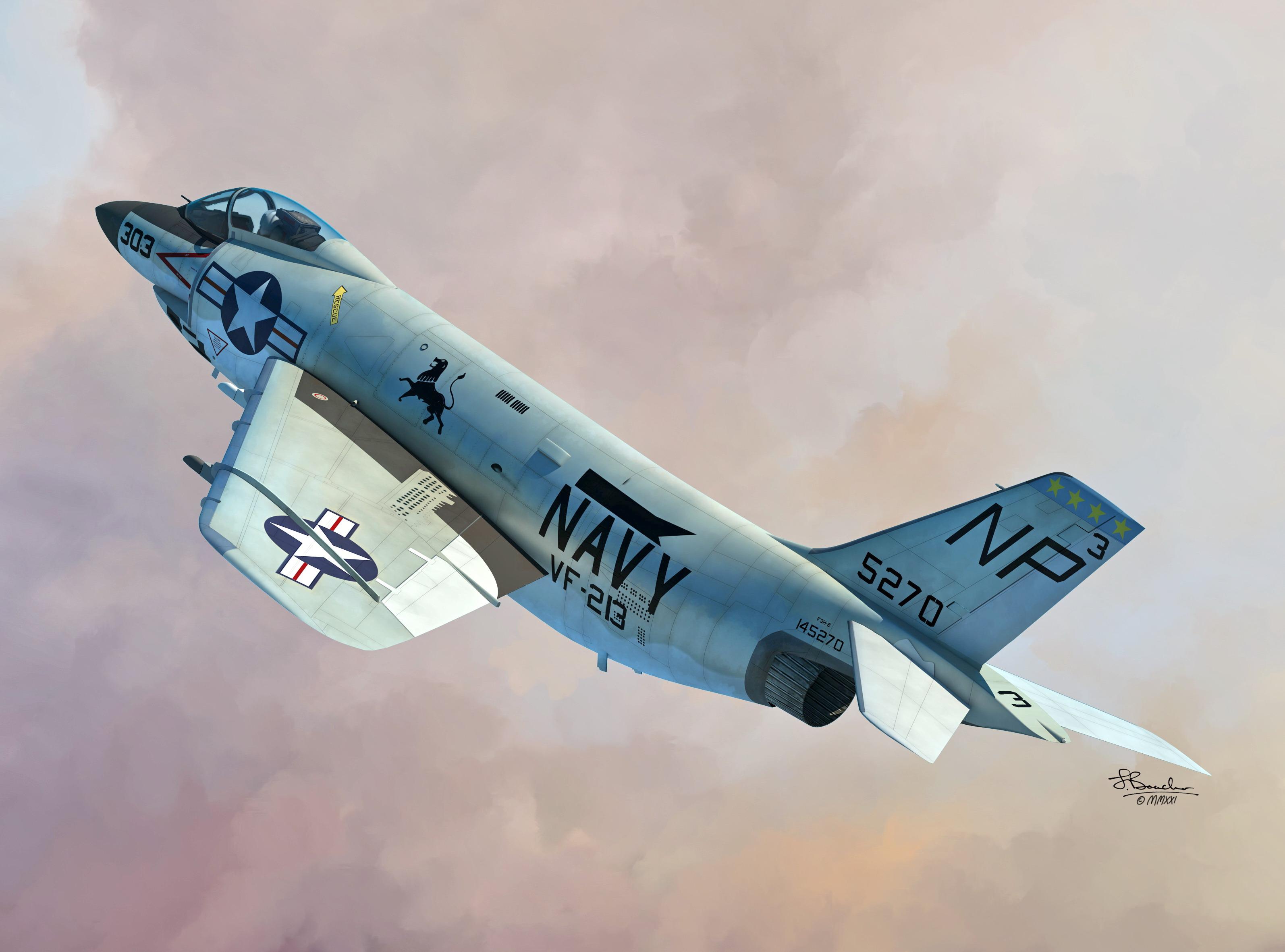 1/72 F-3B/C Demon- Sword models