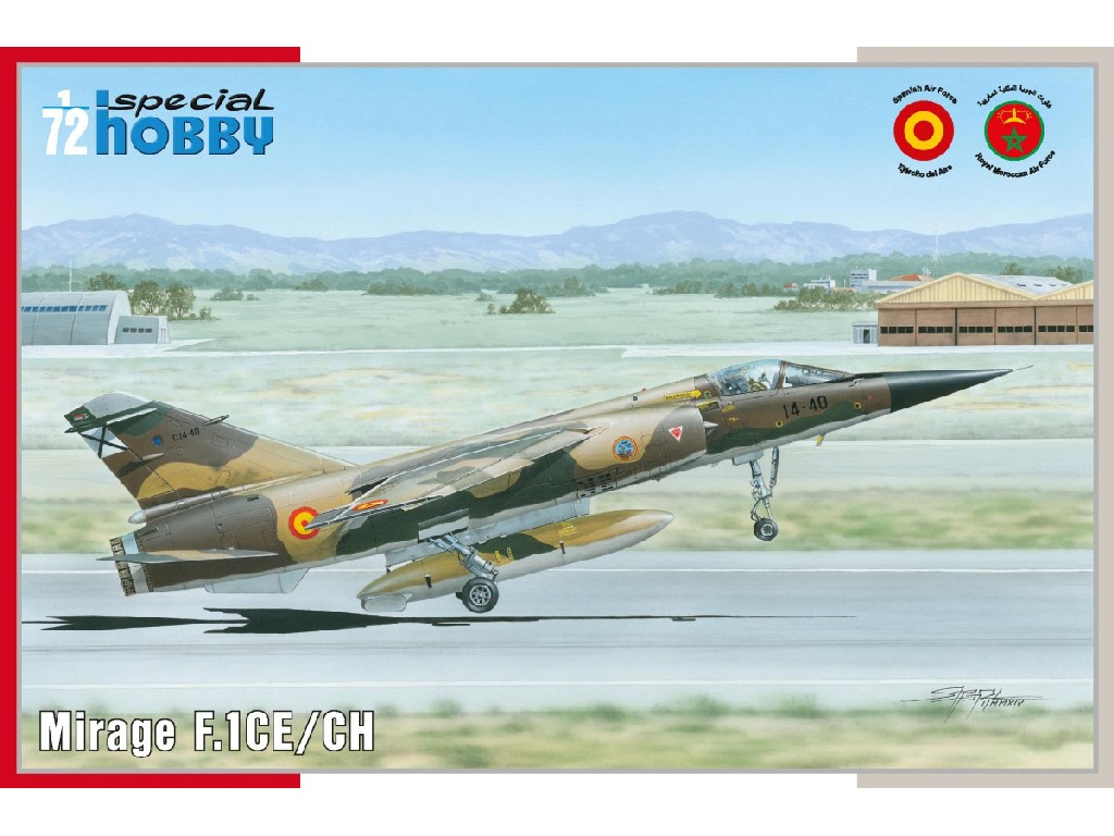 1/72 Mirage F.1 CE/CH
