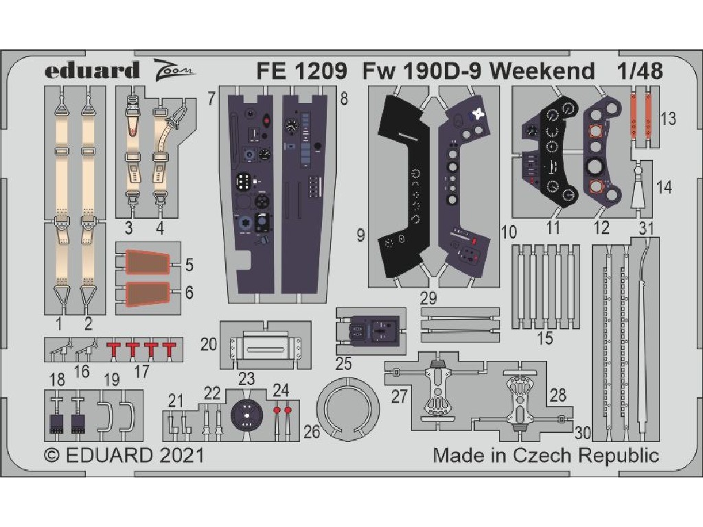 1/48 Fw 190D-9 Weekend for EDUARD kit