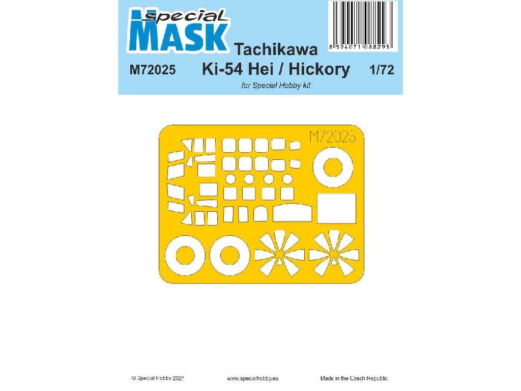 1/72 Tachikawa Ki-54 Hei  / Hickory MASK