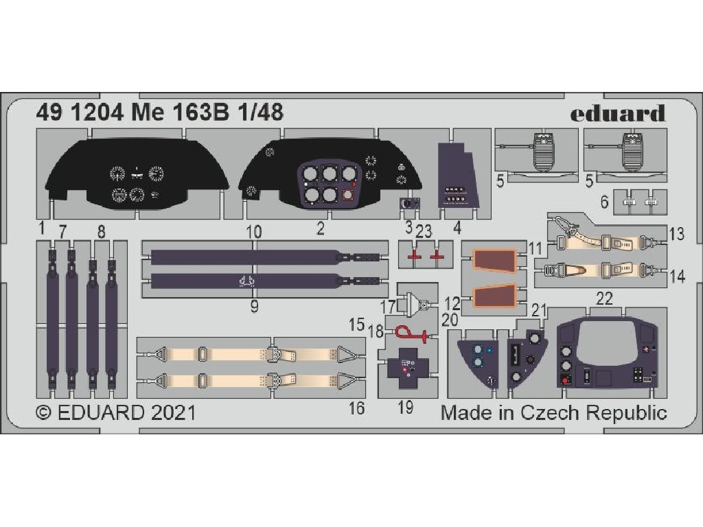 1/48 Me 163B for GASPATCH MODELS kit