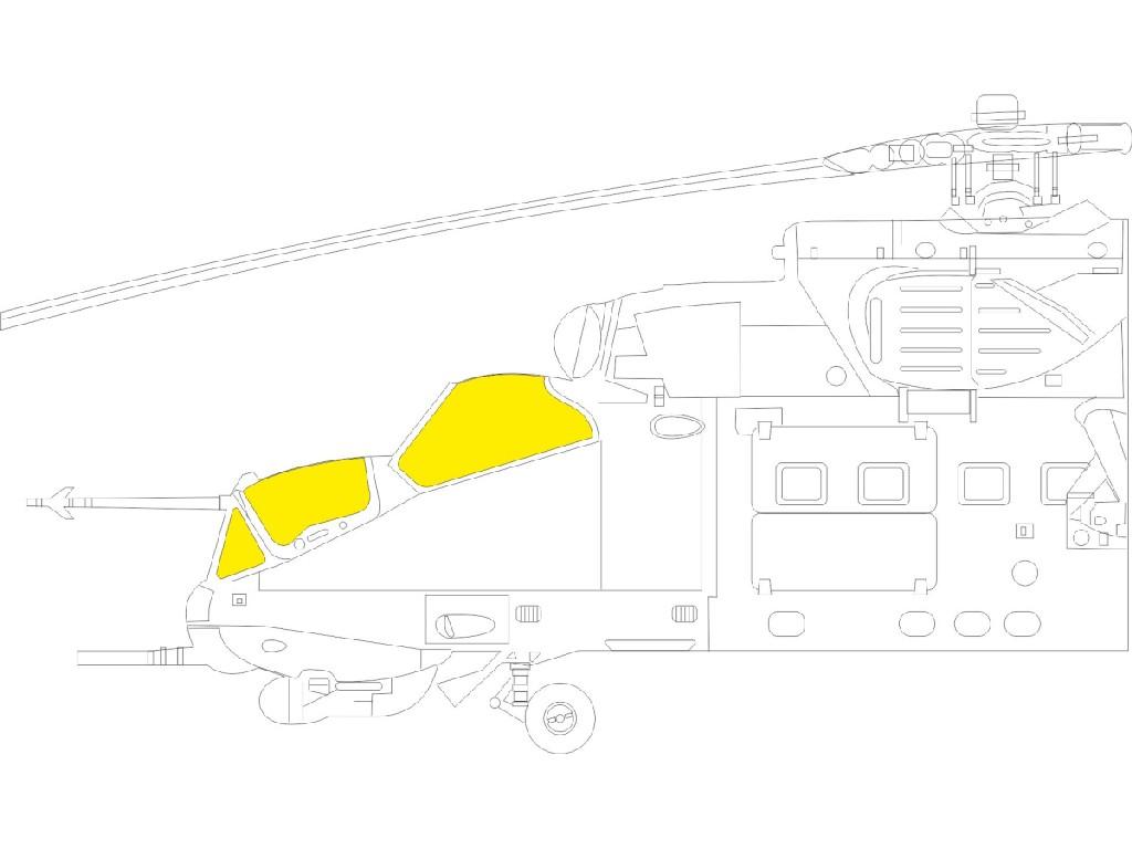 1/48 Mi-24P for ZVEZDA kit
