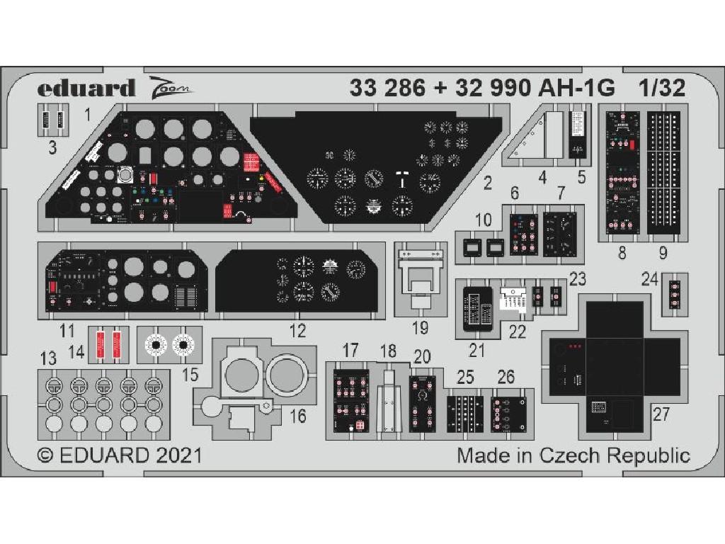 1/32 AH-1G for ICM kit