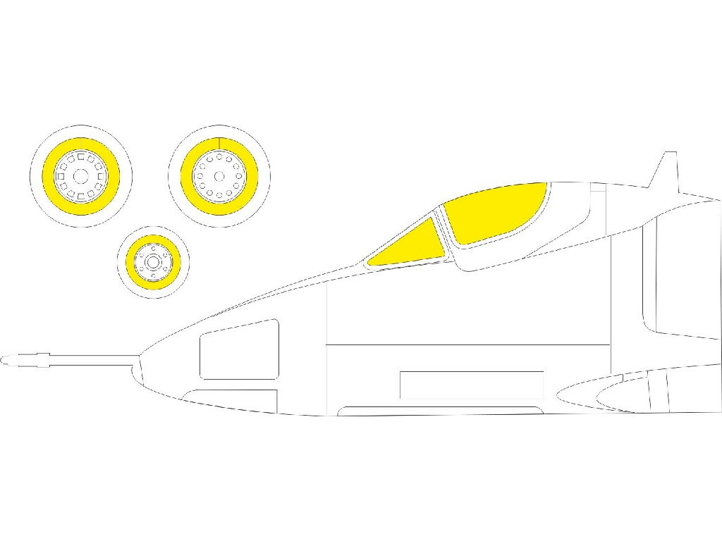 1/72 A-4B for FUJIMI / HOBBY 2000 kit