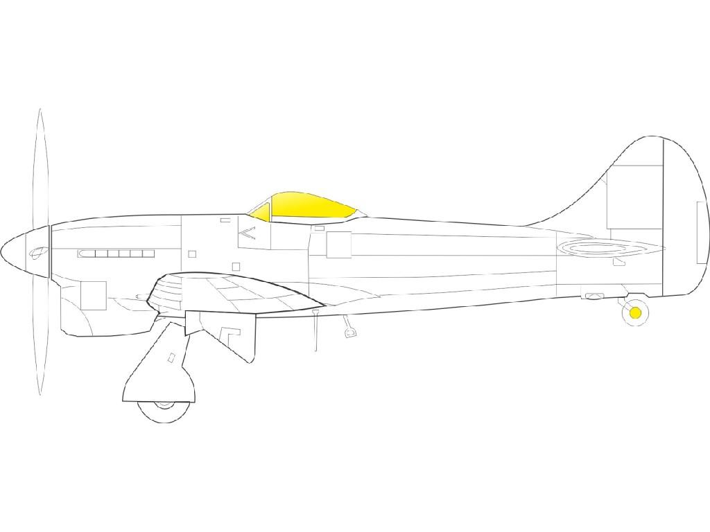 1/48 Tempest Mk.II TFace for EDUARD/SPECIAL HOBBY kit