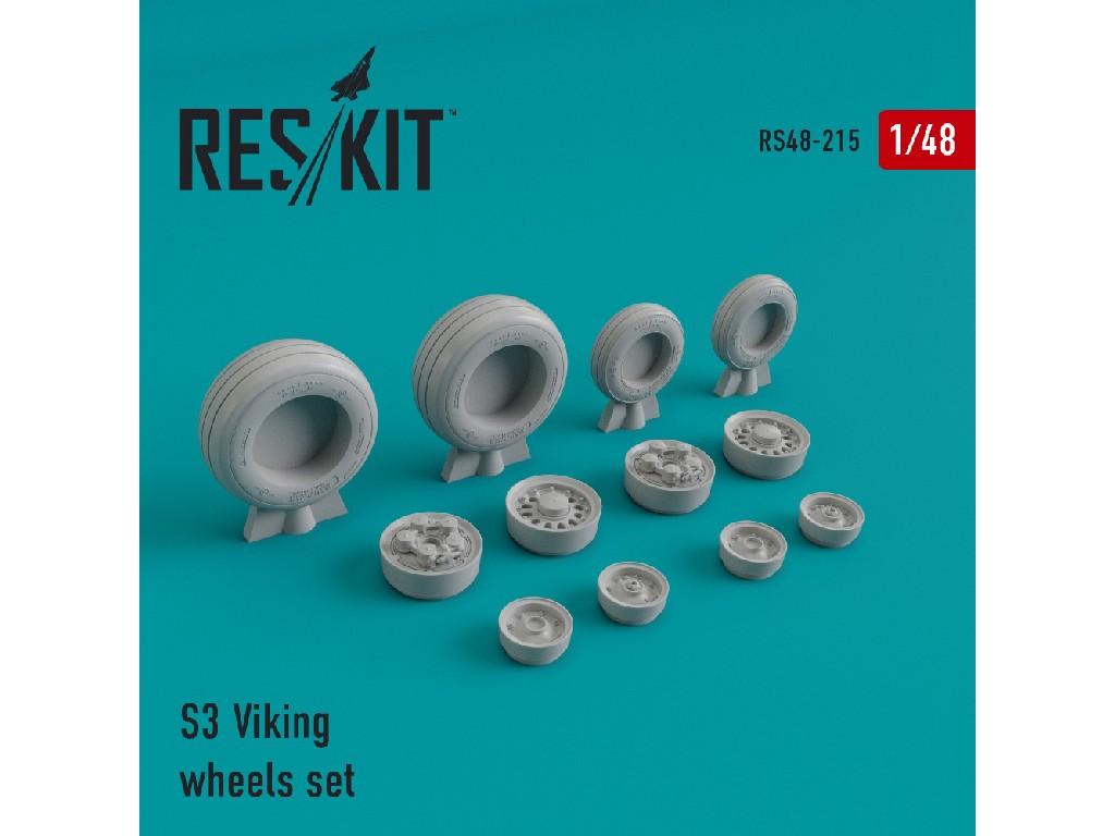 1/48 S-3 Vikingwheels set