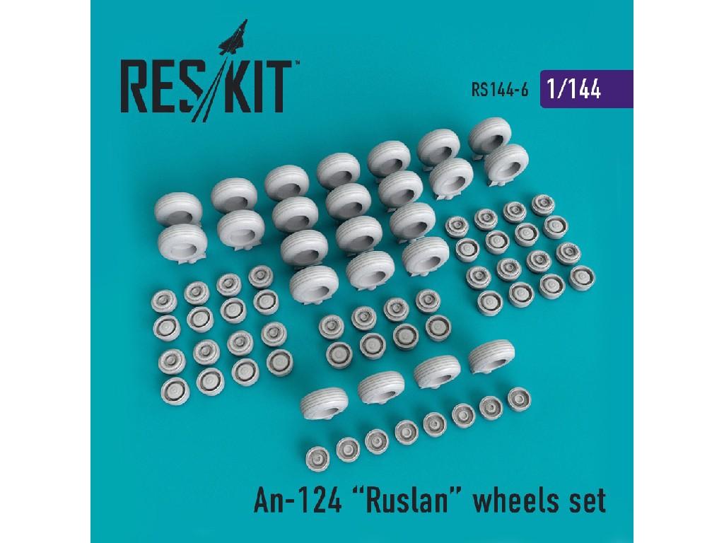 1/144 An-124 Ruslan wheels set