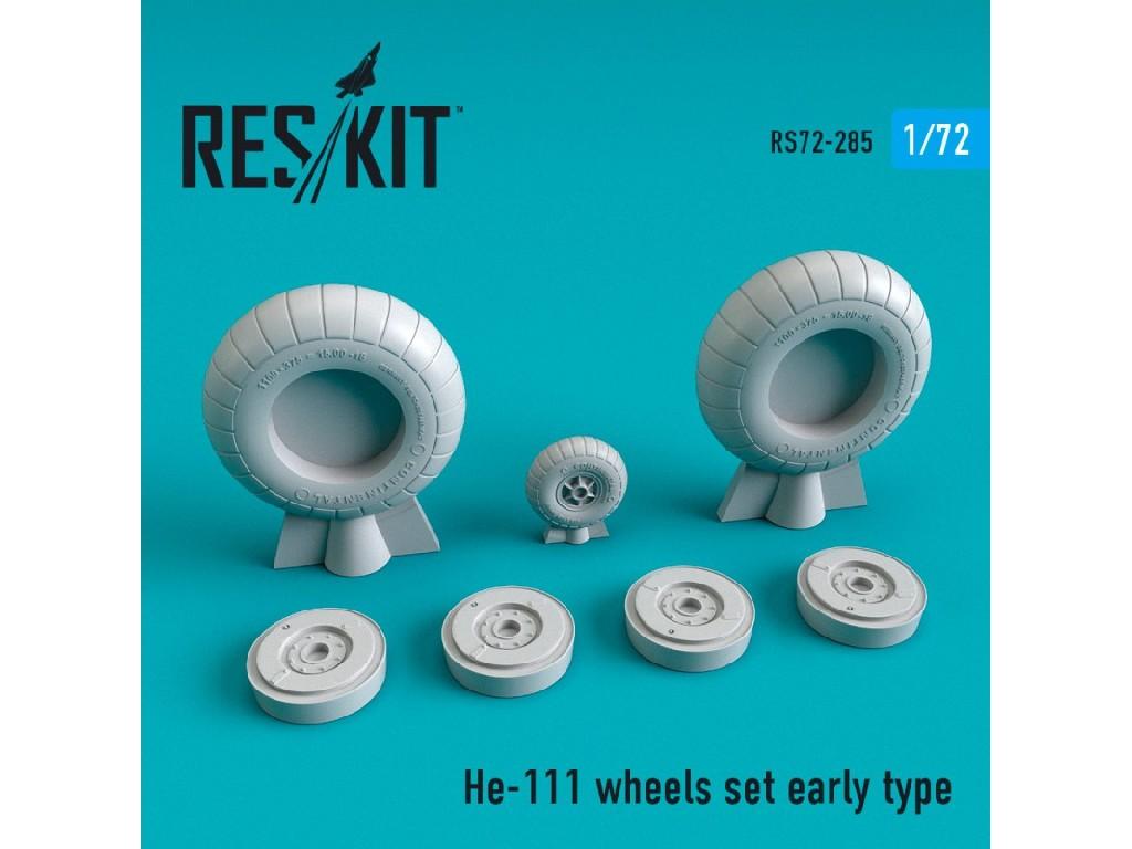 1/72 He-111 wheels set early type