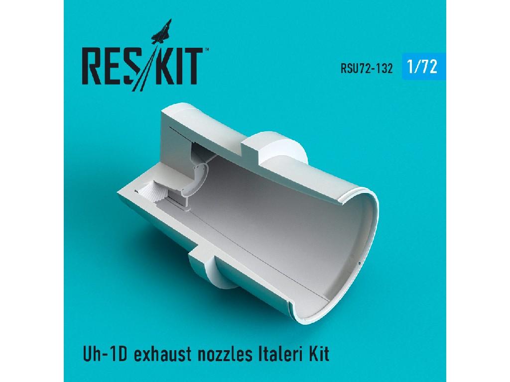 1/72 Uh-1D exhaust nozzles Italeri Kit