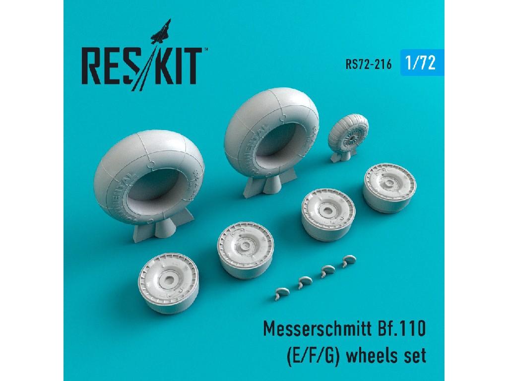 1/72 Bf.110 (E/F/G)  wheels set
