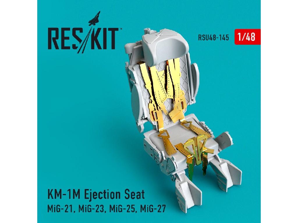 1/48 KM-1M Ejection Seat (MiG-21, MiG-23, MiG-25, MiG-27)
