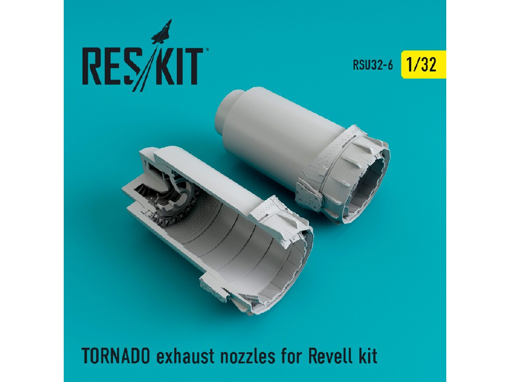 1/32 TORNADO exhaust nozzles for Revell