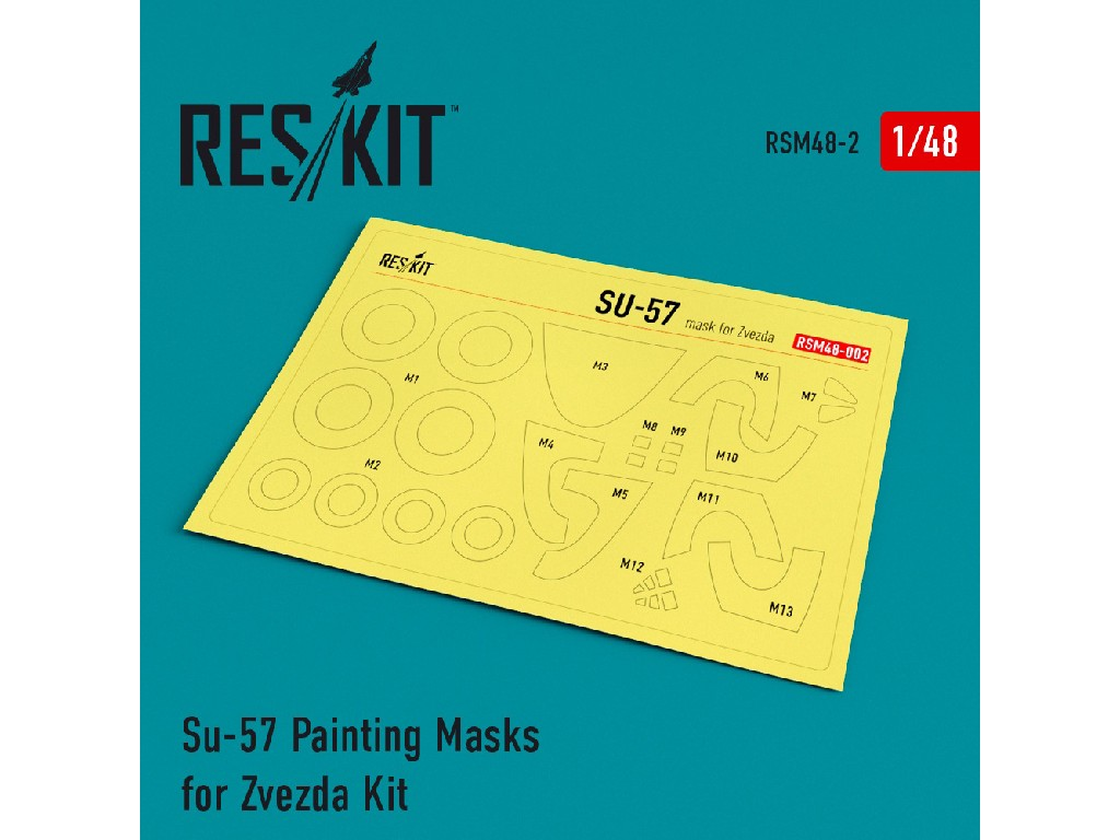 1/48 Su-57 Painting Masks for Zvezda Kit