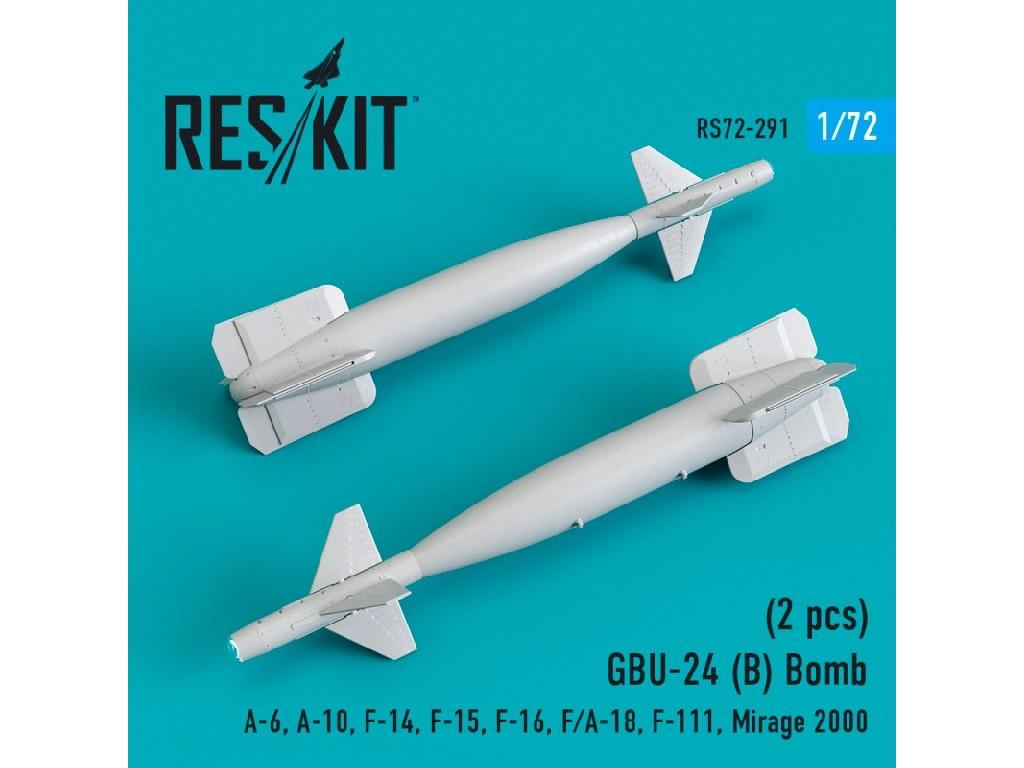 1/72 GBU-24 (B) Bomb (2 pcs) A-6, A-10, F-14, F-15, F-16, F/A-18, F-111, Mirage 2000