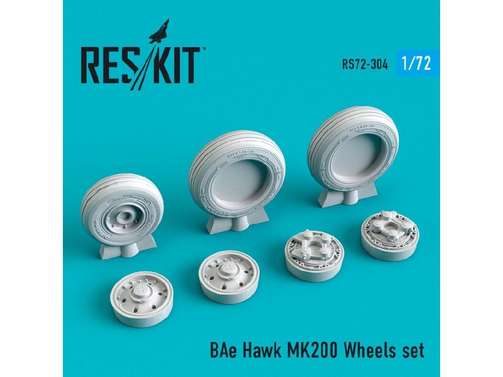 1/72 BAe Hawk MK200 Wheels set