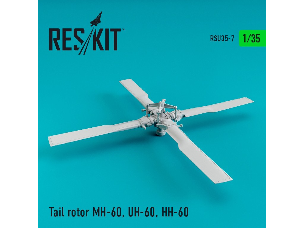 1/35 Tail rotor MH-60L, UH-60A, HH-60