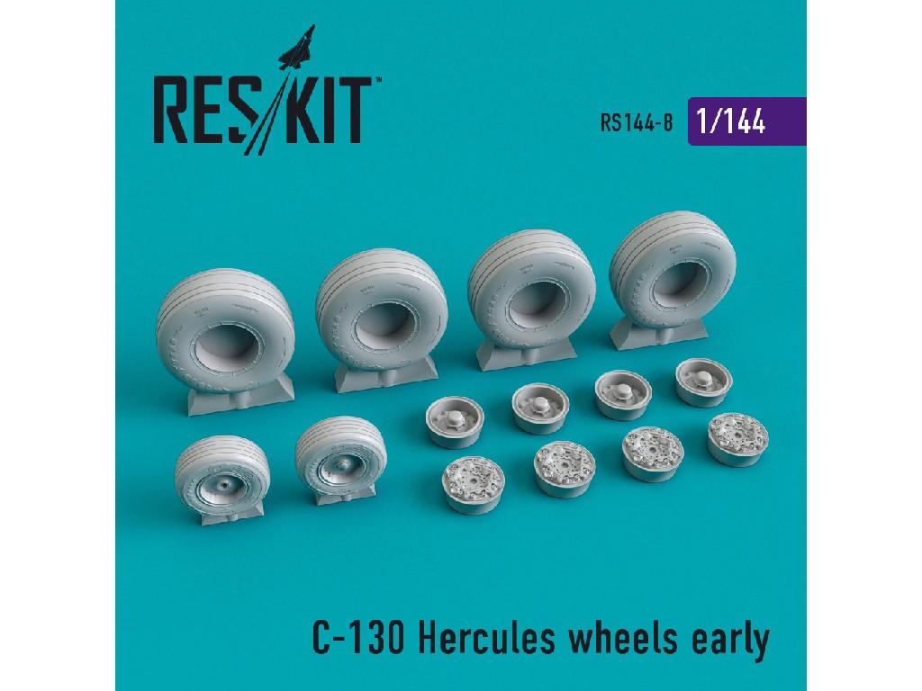 1/144 C-130 Hercules wheels early