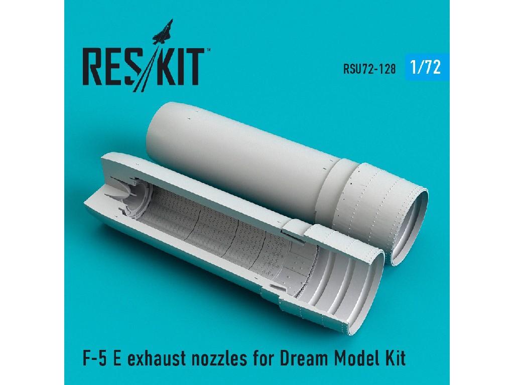 1/72 F-5 E exhaust nozzles for Dream Model Kit