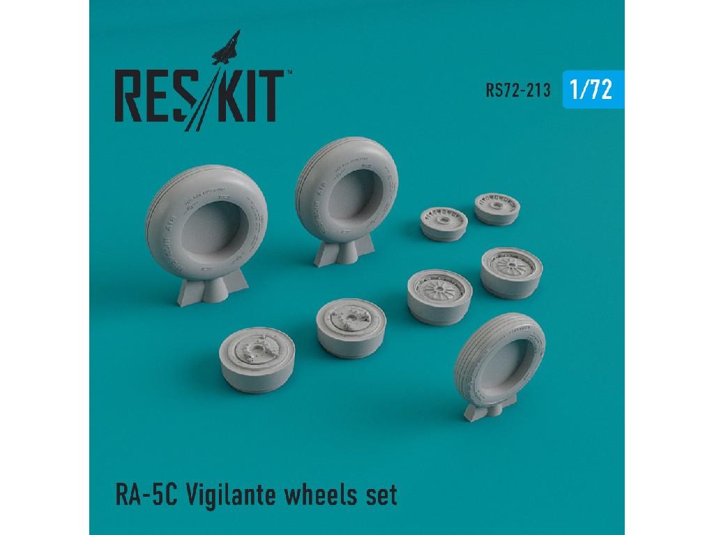 1/72 RA-5 Vigilante wheels set