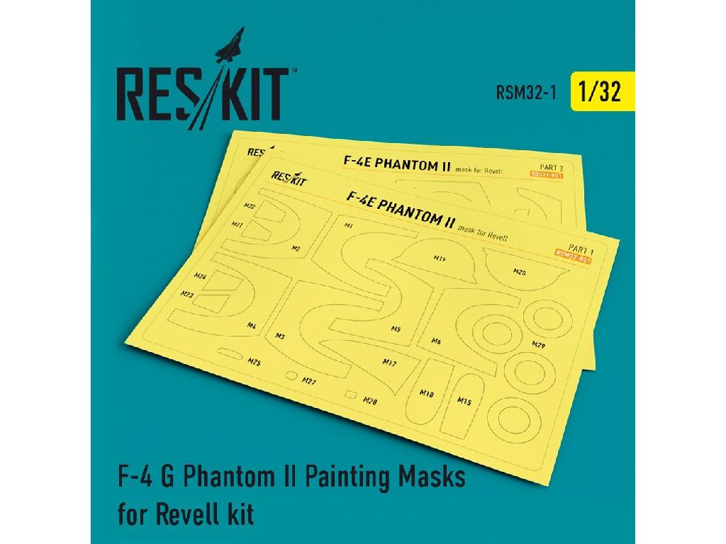 1/32 F-4 G Phantom II Painting Masks for Revell  kit