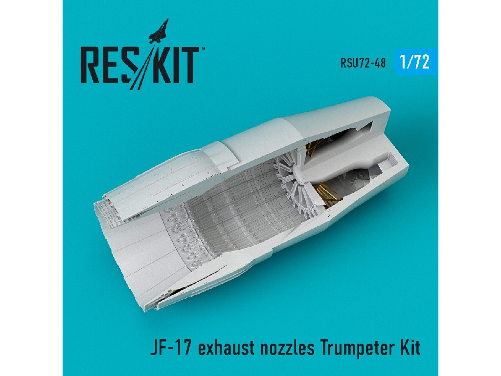 1/72 JF-17 exhaust nozzle Trumpeter Kit