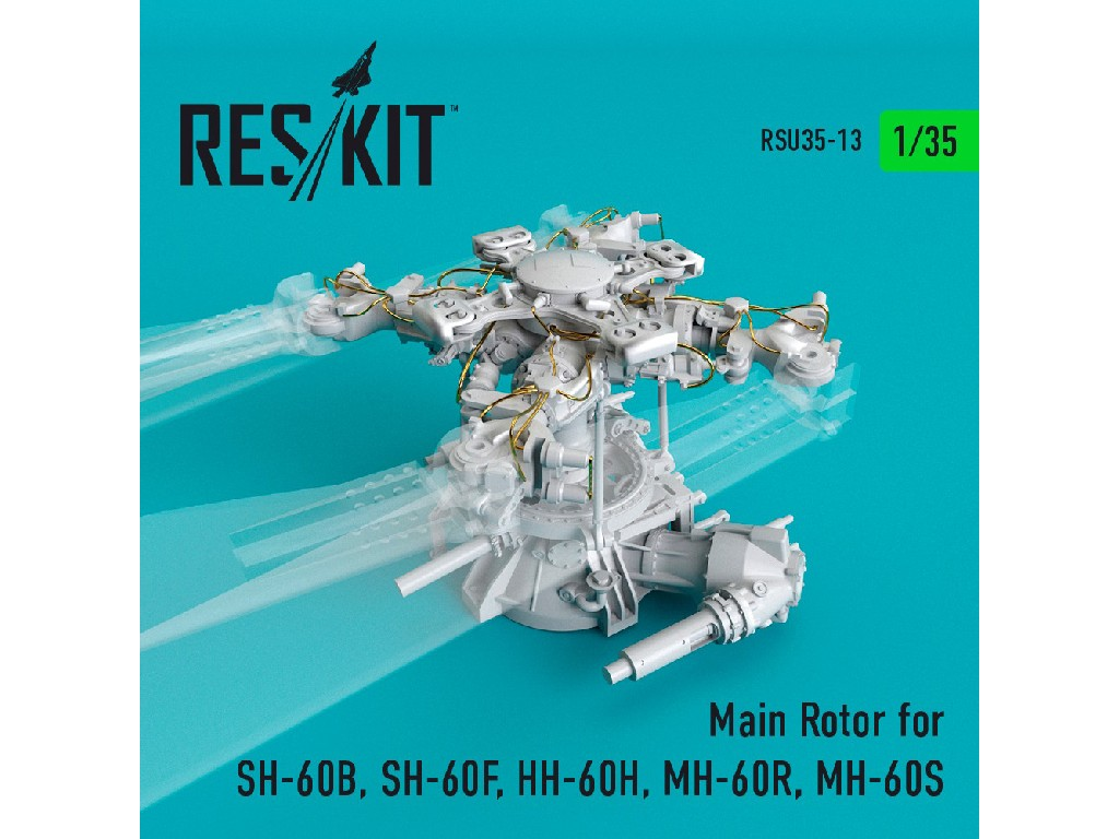 1/35 Main Rotor for SH-60B, SH-60F, HH-60H, MH-60R, MH-60S