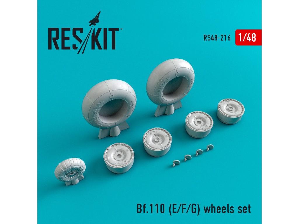 1/48 Bf.110 (E/F/G)  wheels set