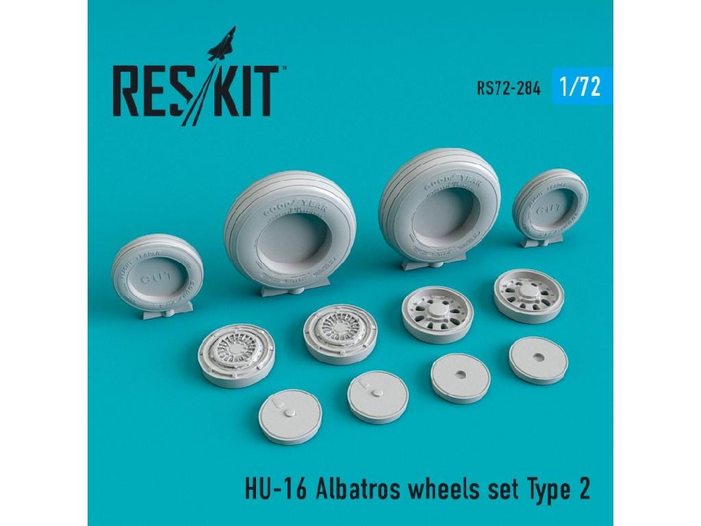 1/72 HU-16 Albatros wheels set Type 2