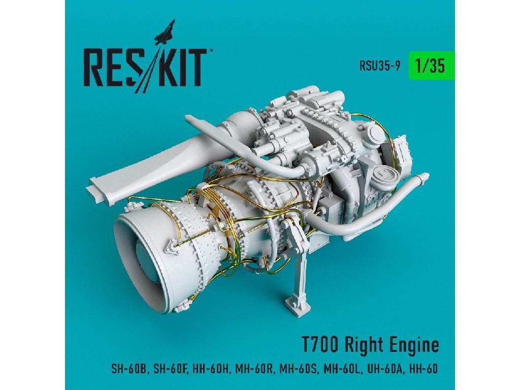 1/35 T700 Right  Engine (SH-60B, SH-60F, HH-60H, MH-60R, MH-60S, MH-60L, UH-60A, HH-60)