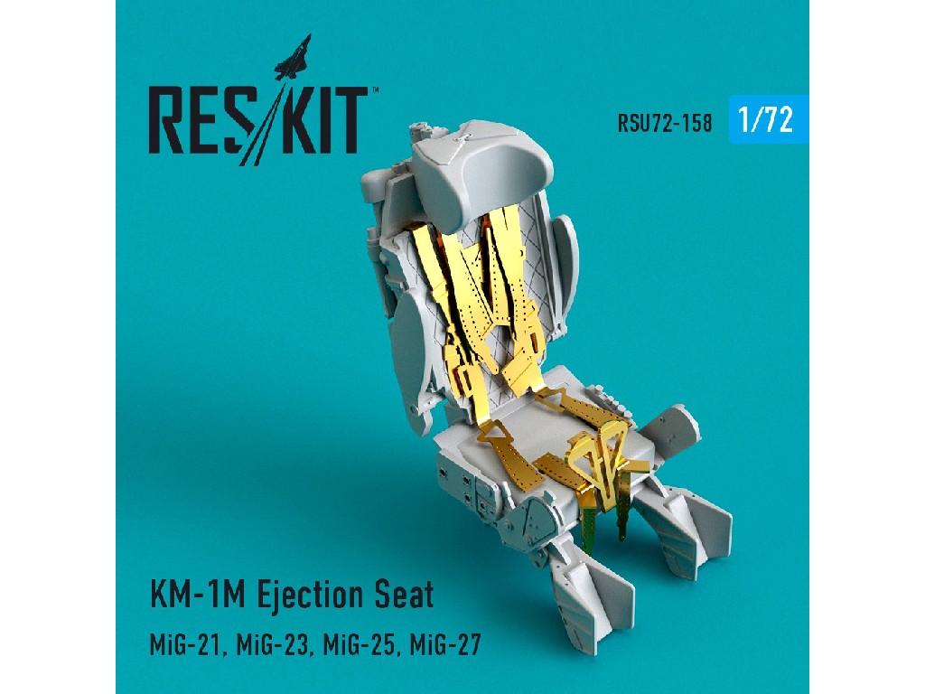 1/72 KM-1M Ejection Seat (MiG-21, MiG-23, MiG-25, MiG-27)