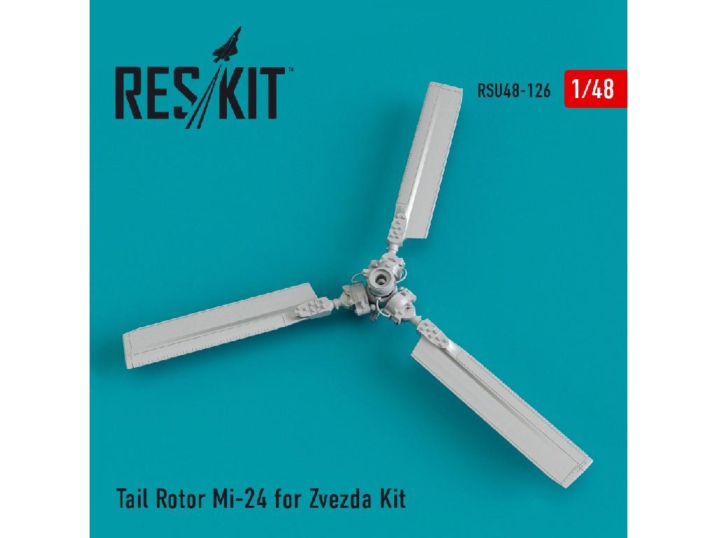 1/48 Tail Rotor Mi-24 for Zvezda Kit