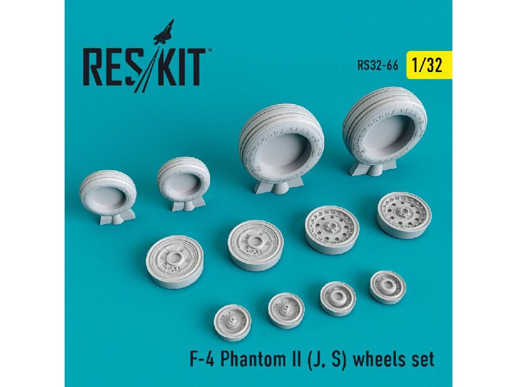 1/32 F-4 Phantom II (J, S) wheels set