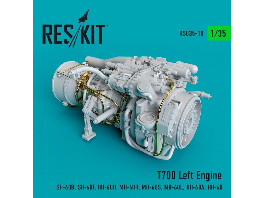 1/35 T700 Left Engine  (SH-60B, SH-60F, HH-60H, MH-60R, MH-60S, MH-60L, UH-60A, HH-60)