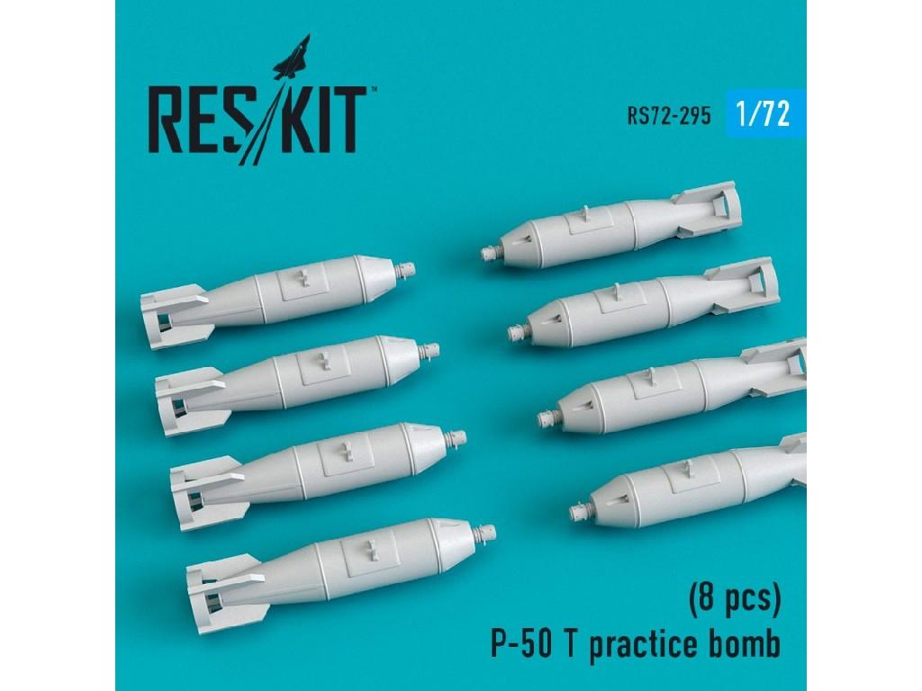 1/72 P-50 T practice bomb (8 pcs)(MiG-21, MiG-23, MiG-27, Su-7m, Su-17, Su-24, Su-25, Su-27, Su-30,
