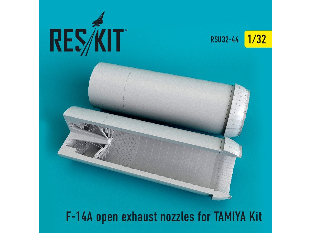 1/32 F-14A open exhaust nozzles for TAMIYA Kit