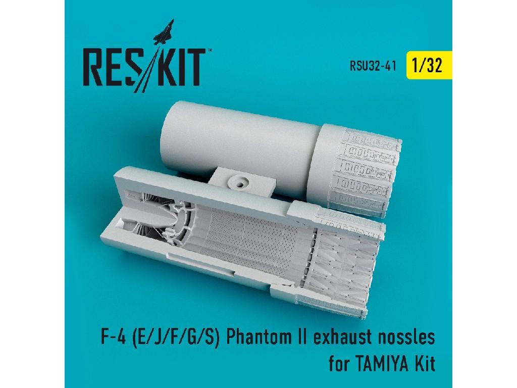 1/32 F-4 (E/J/F/G/S) Phantom II  exhaust nossles for TAMIYA Kit