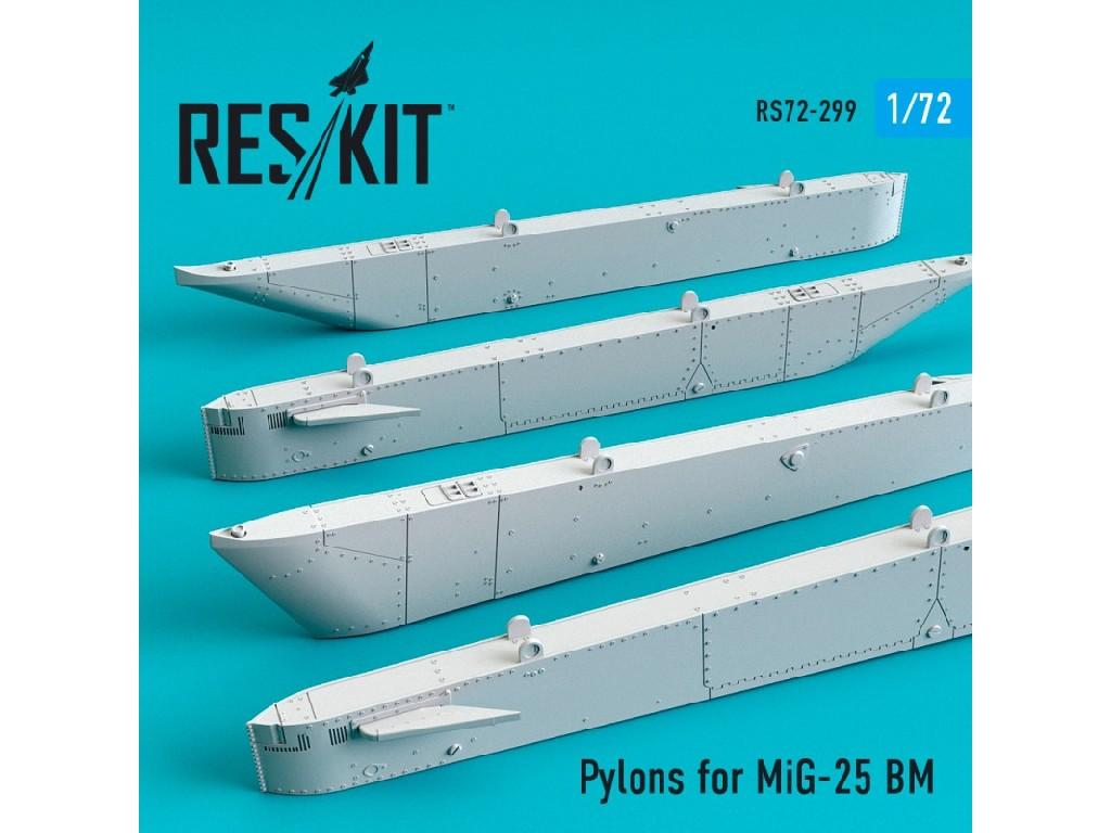 1/72 Pylons for MiG-25 BM