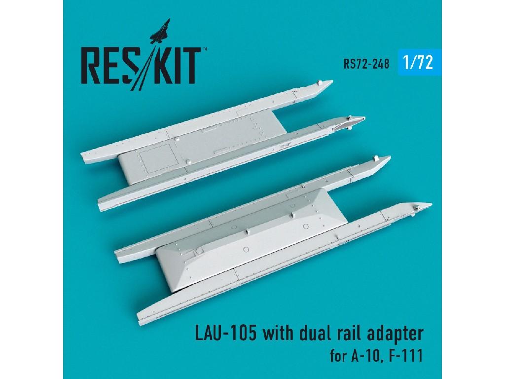 1/72 LAU-105 with dual rail adapter (2 PCS) A-10