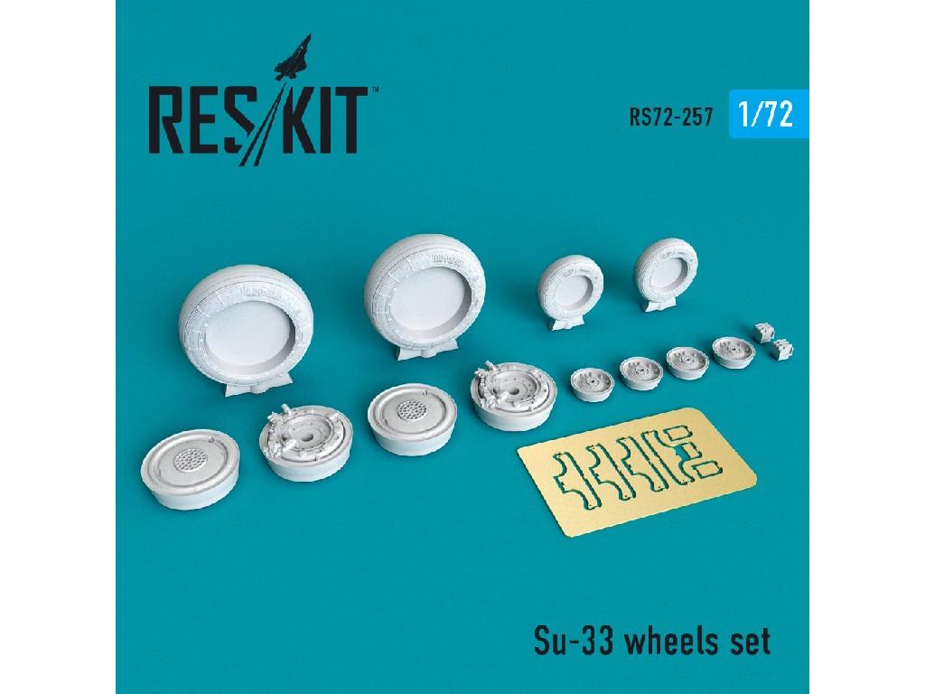 1/72 Su-33 wheels set