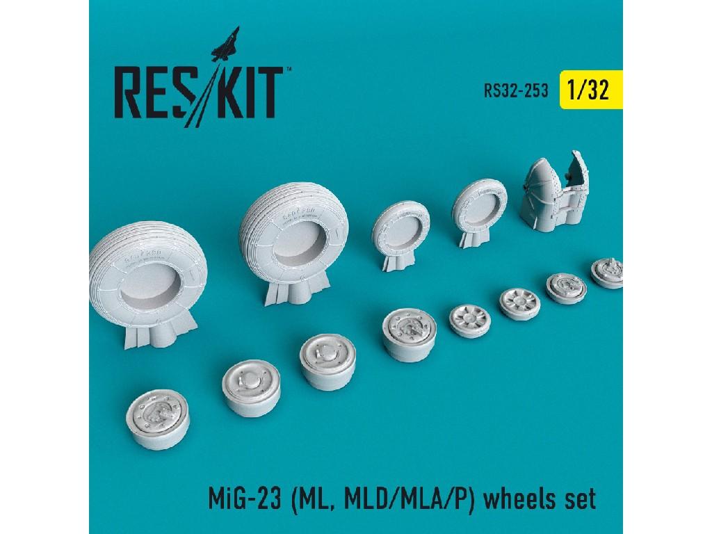 1/32 MiG-23 (ML, MLD/MLA/P) wheels set