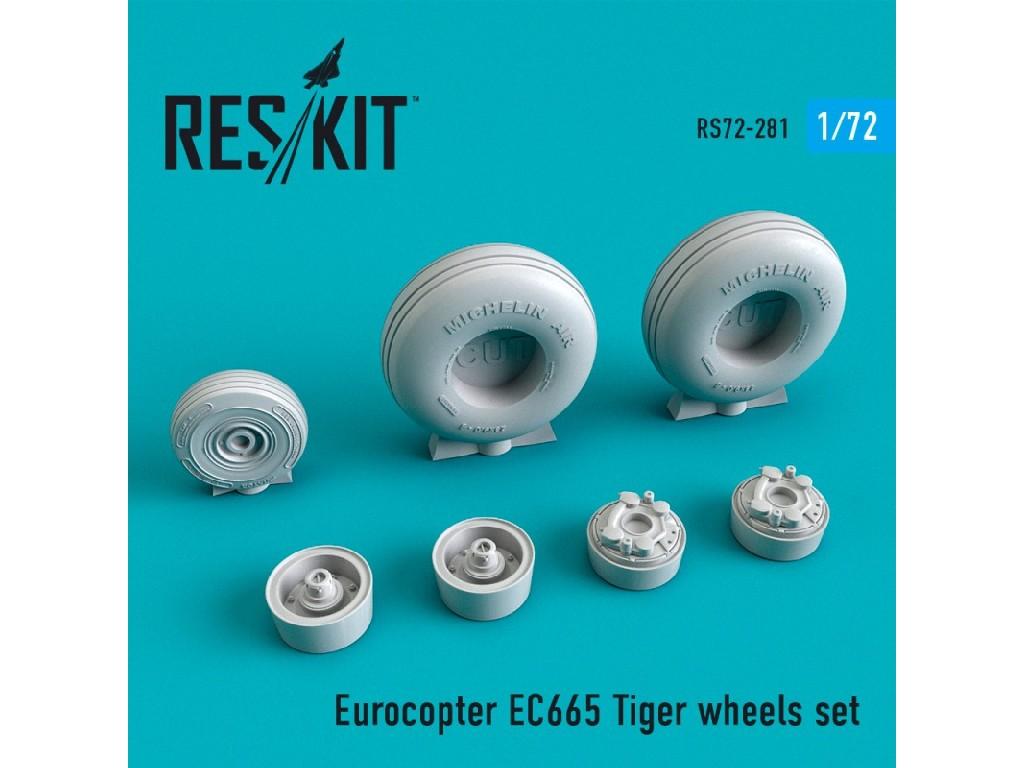1/72 EC665 Tiger wheels set