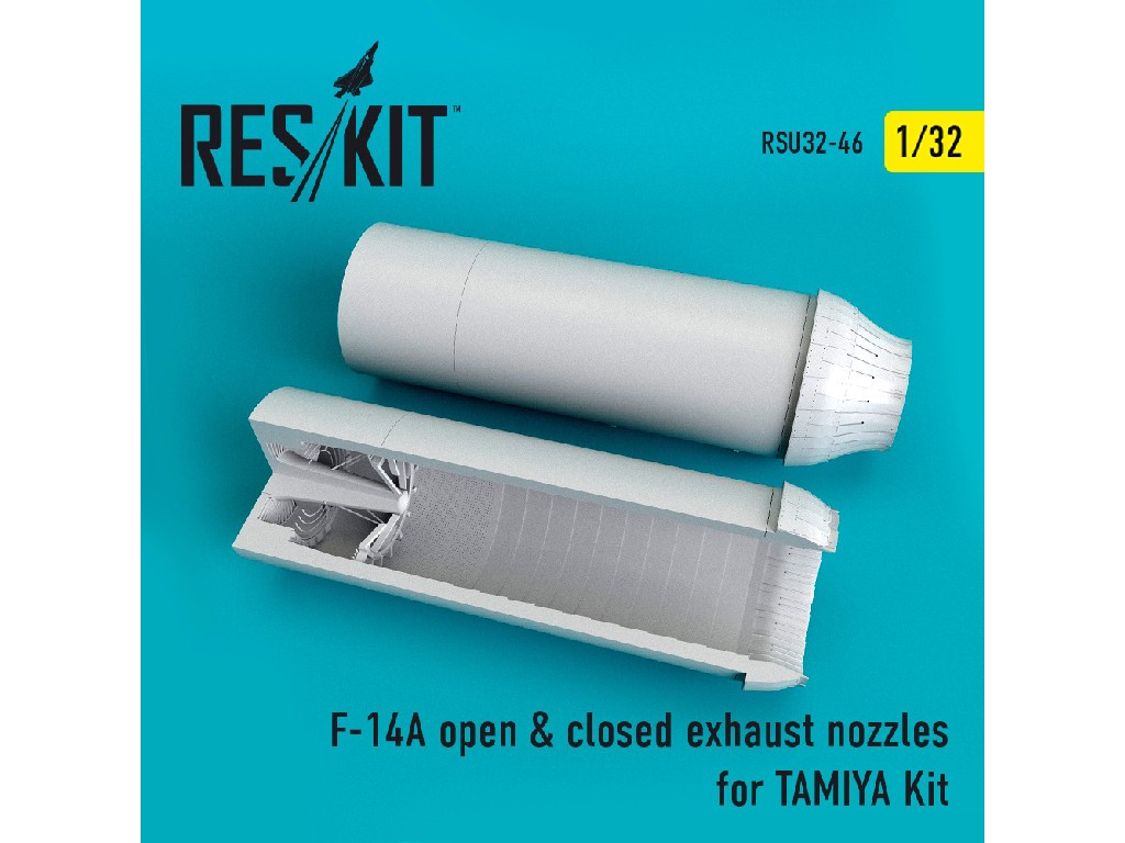 1/32 F-14A open + closed exhaust nozzles TAMIYA Kit